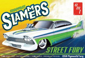 AMT Street Fury 1958 Plymouth - Slammers SNAP 1:25 Scale Model Kit