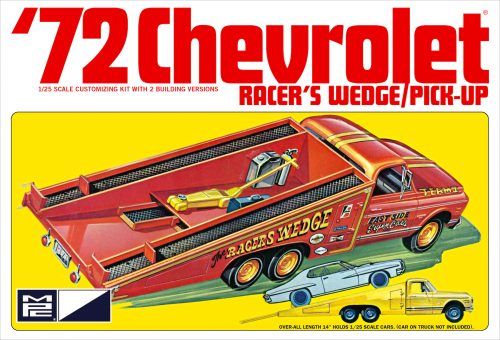 MPC 1972 Chevy Racer's Wedge Pick Up 1:25 Scale Model Kit