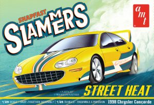 AMT Street Heat 1998 Chrysler Concorde - Slammers SNAP 1:25 Scale Model Kit