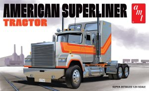 AMT American Superliner Semi Tractor 1:24 Scale Model Kit
