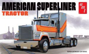 AMT American Superliner Semi Tractor 1:24 Scale Model Kit