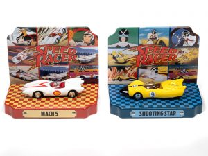 Johnny Lightning Silver Screen Machines Diorama 2020 Release 3 - Speed Racer