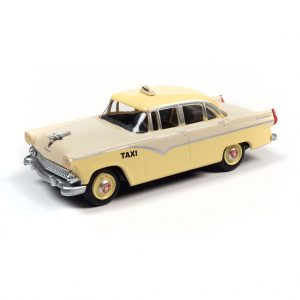 CLASSIC METAL WORKS 1955 FORD 4-DOOR SEDAN TAXI 1:87 HO SCALE