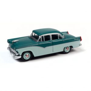 CLASSIC METAL WORKS 1955 FORD 4-DOOR SEDAN (PINETREE GREEN & NEPTUNE GREEN) 1:87 HO SCALE