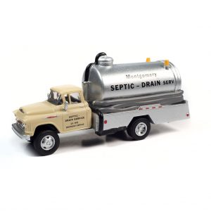 CLASSIC METAL WORKS 1957 CHEVY SEPTIC TANK TRUCK (MONTGOMERY DRAIN SERVICE) 1:87 HO SCALE
