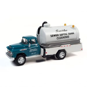 CLASSIC METAL WORKS 1957 CHEVY SEPTIC TANK TRUCK (SMITHE SEPTIC SERVICE) 1:87 HO SCALE