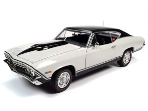 AMERICAN MUSCLE 1968 CHEVY NICKEY CHEVELLE SS HARDTOP 1:18 SCALE DIECAST