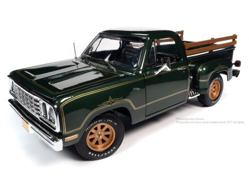 AMERICAN MUSCLE 1977 DODGE PICK UP STEP SIDE WARLOCK 1:18 SCALE DIECAST