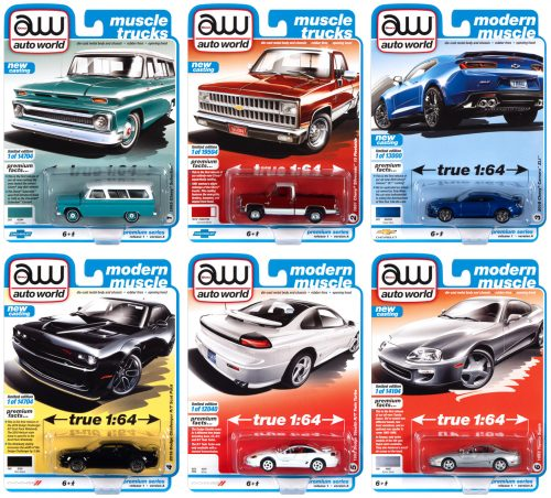 AUTO WORLD PREMIUM 2021 RELEASE 1 SET A - 1:64 DIECAST