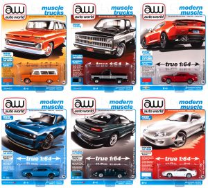 AUTO WORLD PREMIUM 2021 RELEASE 1 SET B - 1:64 DIECAST