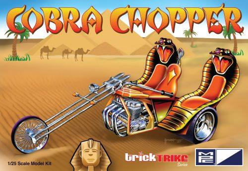 MPC Cobra Chopper (Trick Trikes Series) 1:25 Scale Model Kit
