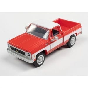 CLASSIC METAL WORKS 1973 CHEVY CHEYENNE PICKUP (MADDER RED) 1:87 HO SCALE