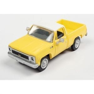 CLASSIC METAL WORKS 1973 CHEVY CHEYENNE PICKUP (ADONIS YELLOW) 1:87 HO SCALE