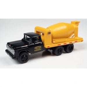 CLASSIC METAL WORKS 1960 FORD CEMENT/CONCRETE HD TRUCK (TIDEWATER CONCRETE) 1:87 HO SCALE