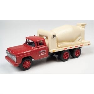 CLASSIC METAL WORKS 1960 FORD CEMENT/CONCRETE HD TRUCK (MORSE SAND & GRAVEL) 1:87 HO SCALE