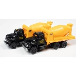 CLASSIC METAL WORKS 1954 INTERNATIONAL R-190 CEMENT/CONCRETE TANDEM HD TRUCK (TIDEWATER CONCRETE) (2-PACK) 1:160 N SCALE