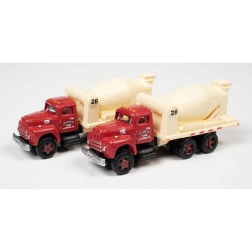 CLASSIC METAL WORKS 1954 INTERNATIONAL R-190 CEMENT/CONCRETE TANDEM HD TRUCK (MORSE SAND & GRAVEL) (2-PACK) 1:160 N SCALE