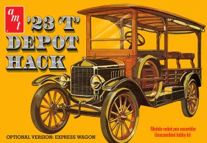 AMT 1923 Ford T Depot Hack 1:25 Scale Model Kit