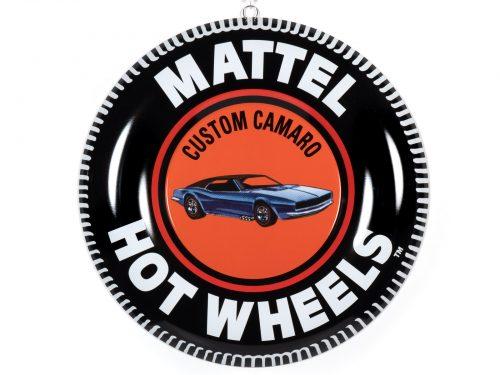 "12"" Hot Wheels Collector Button Tin Sign Assortment 2021 R1"