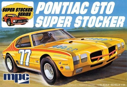 MPC 1970 PONTIAC GTO SUPER STOCKER 1:25 SCALE MODEL KIT