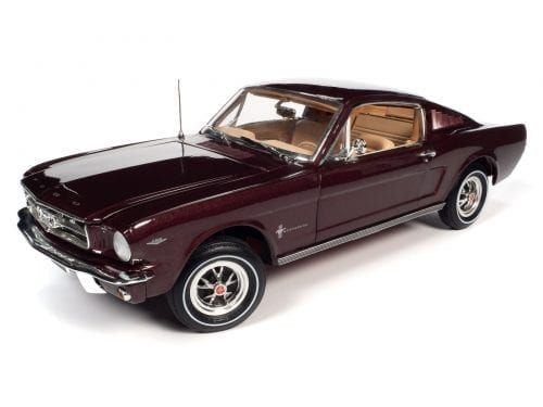 AMERICAN MUSCLE 1965 FORD MUSTANG 2+2 1:18 SCALE DIECAST