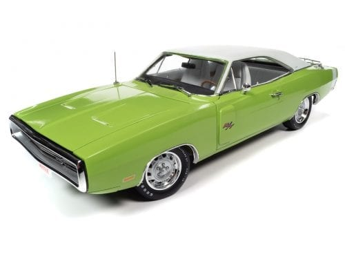 AMERICAN MUSCLE 1970 DODGE CHARGER R/T (HEMMINGS MUSCLE MACHINES) 1:18 SCALE DIECAST