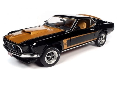 AMERICAN MUSCLE 1969 FORD MUSTANG FASTBACK 1:18 SCALE DIECAST