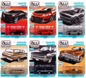 AUTO WORLD PREMIUM 2021 RELEASE 2 SET A - 1:64 DIECAST