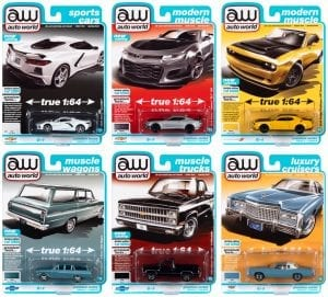 AUTO WORLD PREMIUM 2021 RELEASE 2 SET B - 1:64 DIECAST