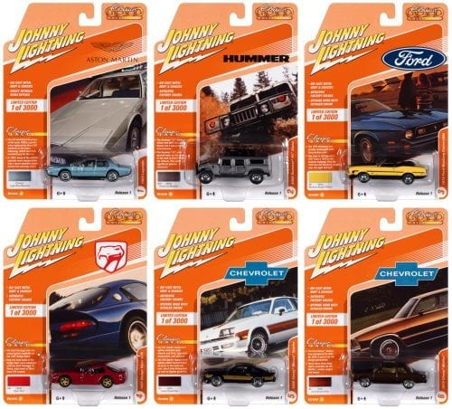 JOHNNY LIGHTNING CLASSIC GOLD 2021 RELEASE 1 SET A - 1:64 DIECAST