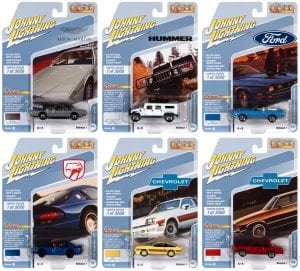 JOHNNY LIGHTNING CLASSIC GOLD 2021 RELEASE 1 SET B - 1:64 DIECAST