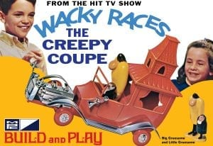 MPC WACKY RACES - CREEPY COUPE (SNAP) 1:32 SCALE MODEL KIT