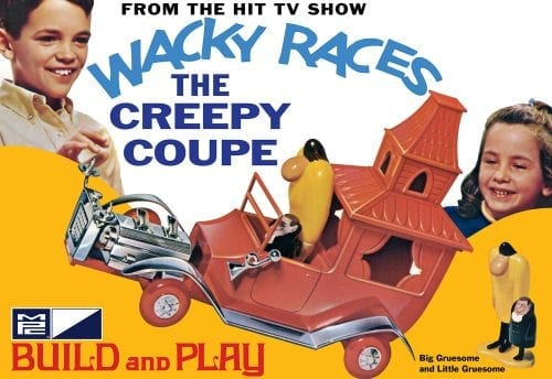 MPC WACKY RACES - CREEPY COUPE (SNAP) 1:32 SCALE MODEL KIT