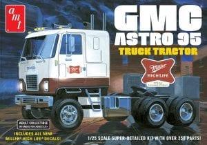 AMT GMC ASTRO 95 SEMI TRACTOR (MILLER BEER) 1:25 SCALE MODEL KIT