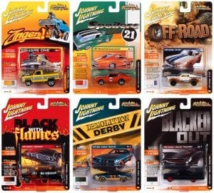 JOHNNY LIGHTNING STREET FREAKS 2021 RELEASE 1 SET B 1:64 SCALE DIECAST