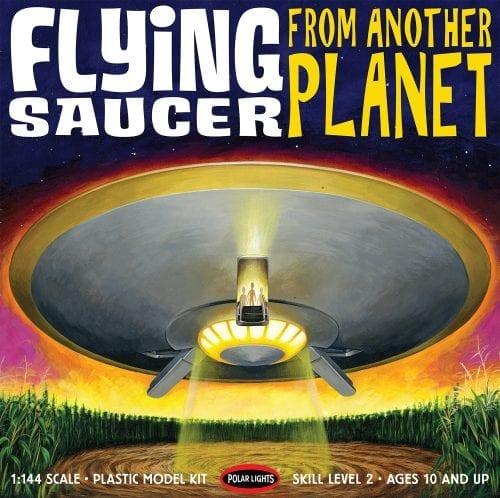 """POLAR LIGHTS 12"""" FLYING SAUCER 1:144 SCALE MODEL KIT"""