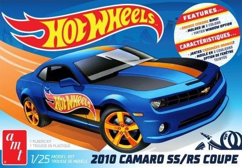 MT 2010 CHEVY CAMARO HOT WHEELS 1:25 SCALE MODEL KIT