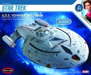 POLAR LIGHTS STAR TREK U.S.S. VOYAGER (SNAP) 1:1000 SCALE MODEL KIT