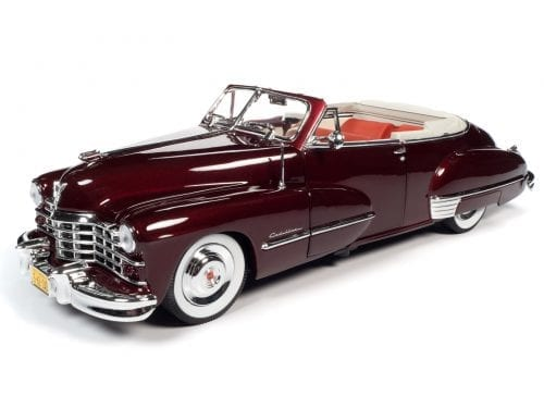 AUTO WORLD 1947 CADILLAC SERIES 62 CABRIOLET 1:18 SCALE DIECAST