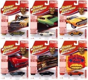 JOHNNY LIGHTNING MUSCLE CARS USA 2021 RELEASE 2 SET B - 1:64 DIECAST