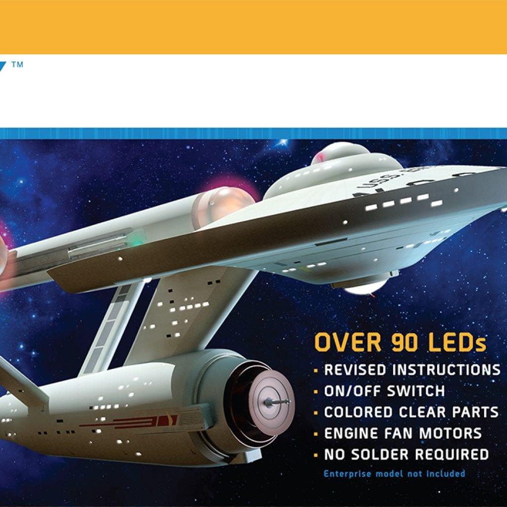 STAR TREK: TOS U.S.S. ENTERPRISE LIGHT KIT 1:350 SCALE
