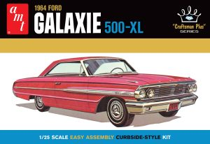 """AMT 1964 FORD GALAXIE """"CRAFTSMAN PLUS SERIES"""" 1:25 SCALE MODEL KIT"""