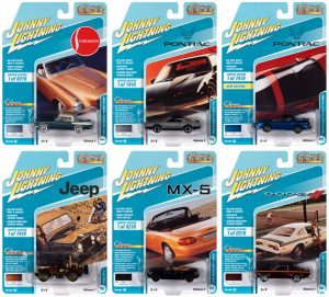 JOHNNY LIGHTNING CLASSIC GOLD 2021 RELEASE 2 SET A - 1:64 DIECAST
