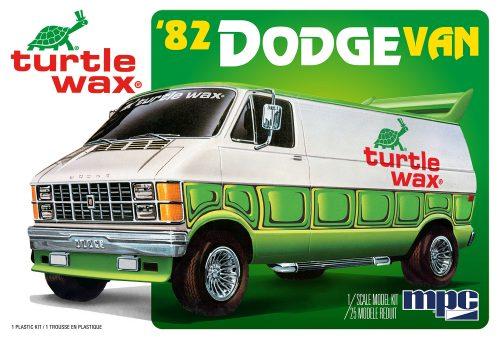 MPC 1982 Dodge Van Custom (Turtle Wax) 1:25 SCALE MODEL KIT