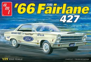 AMT 1966 FORD FAIRLANE 427 1:25 SCALE MODEL KIT