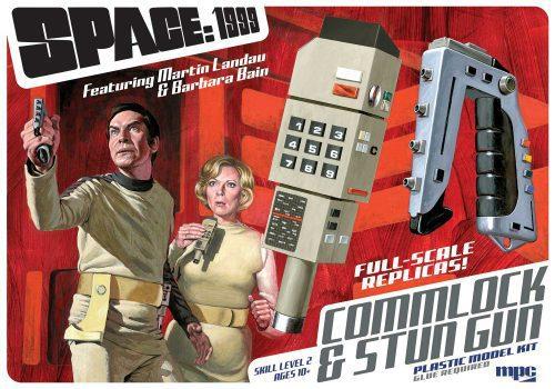 MPC SPACE: 1999 STUN GUN & COMMLOCK 1:1 SCALE MODEL KIT