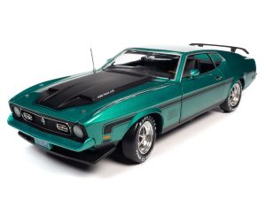 AMERICAN MUSCLE 1971 FORD MUSTANG MACH 1 (CLASS OF 1971) 1:18 SCALE DIECAST