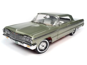 AMERICAN MUSCLE 1964 CHEVY IMPALA SS 409 (HARDTOP) 1:18 SCALE DIECAST