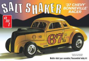 """AMT 1937 CHEVY COUPE """"SALT SHAKER"""" 1:25 SCALE MODEL KIT"""