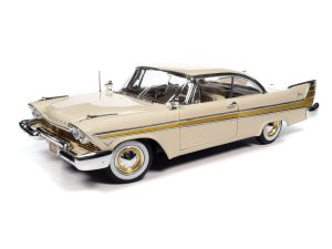 AUTO WORLD 1957 PLYMOUTH FURY 1:18 SCALE DIECAST